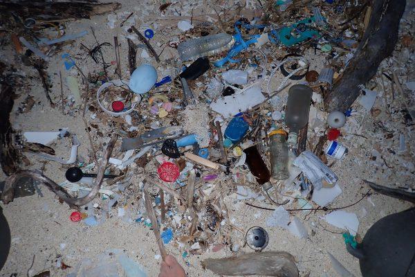 無人島 漂流ゴミ